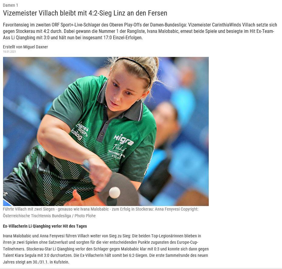 (c) Homepage ÖTTV-Bundesliga Bericht
