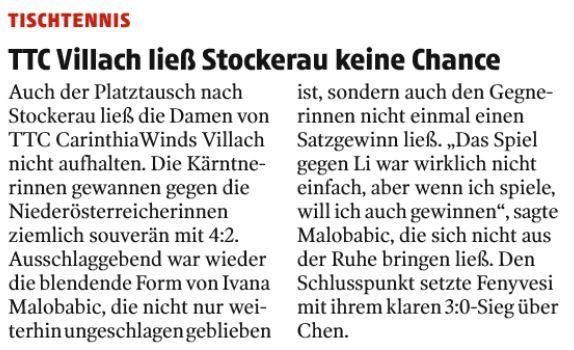 Kleine Zeitung 20.01.2021