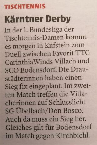 Kleine Zeitung, 29.1.2021