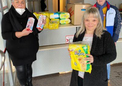Spendenübergabe an SC Ferlach